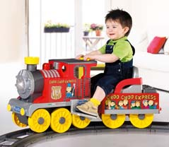 Choo Choo Ride on Battery Train Preschool Children Surrey Middlesex